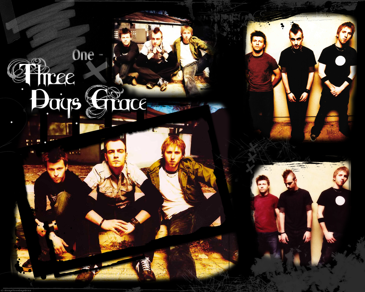 Three Days Grace Wallpaper by AlwaysThreeDaysGrace on 1280x1024