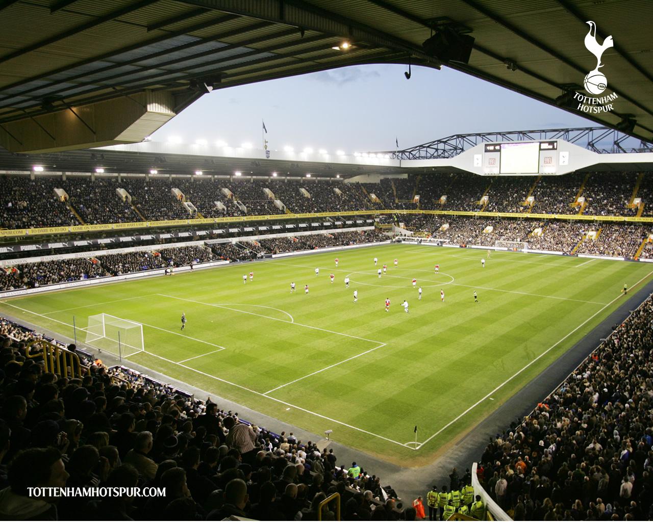 Soccer Stadium Wallpaper 1280x1024 Soccer Stadium Tottenham Hotspur 1280x1024