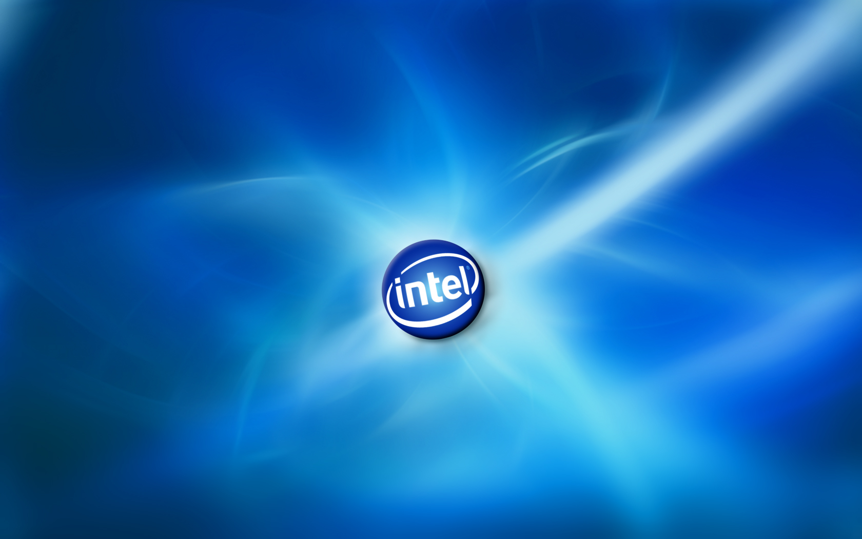 Intel logo wallpaper Rumah IT 1680x1050