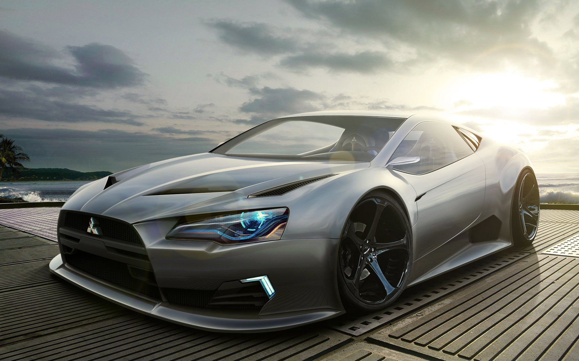 Mitsubishi Concept Wallpapers HD Wallpapers 1920x1200