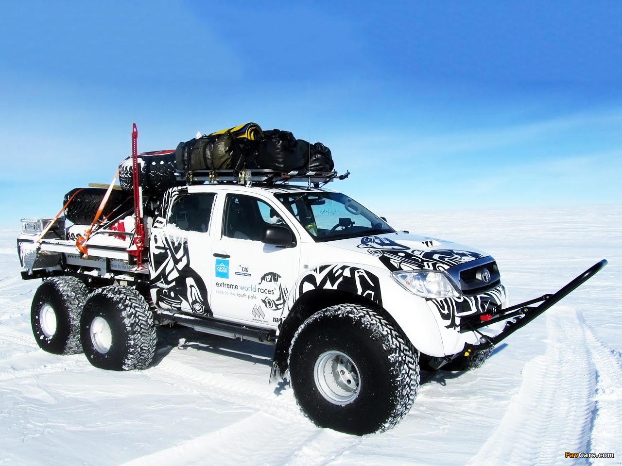 Arctic Trucks Toyota Hilux AT44 6x6 2010 wallpapers 1280 x 960 1280x960