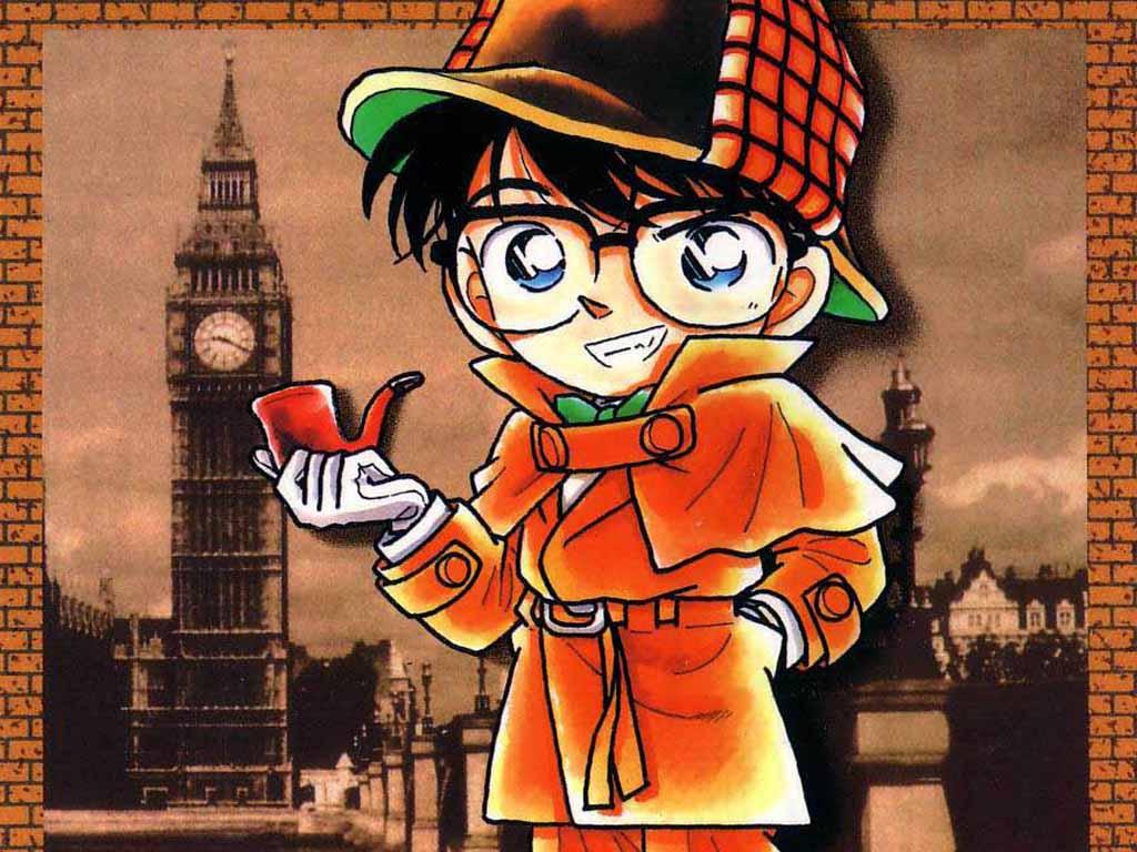 Conan wallpaper background wallpapersafari - Wallpaper 1024x768 anime ...