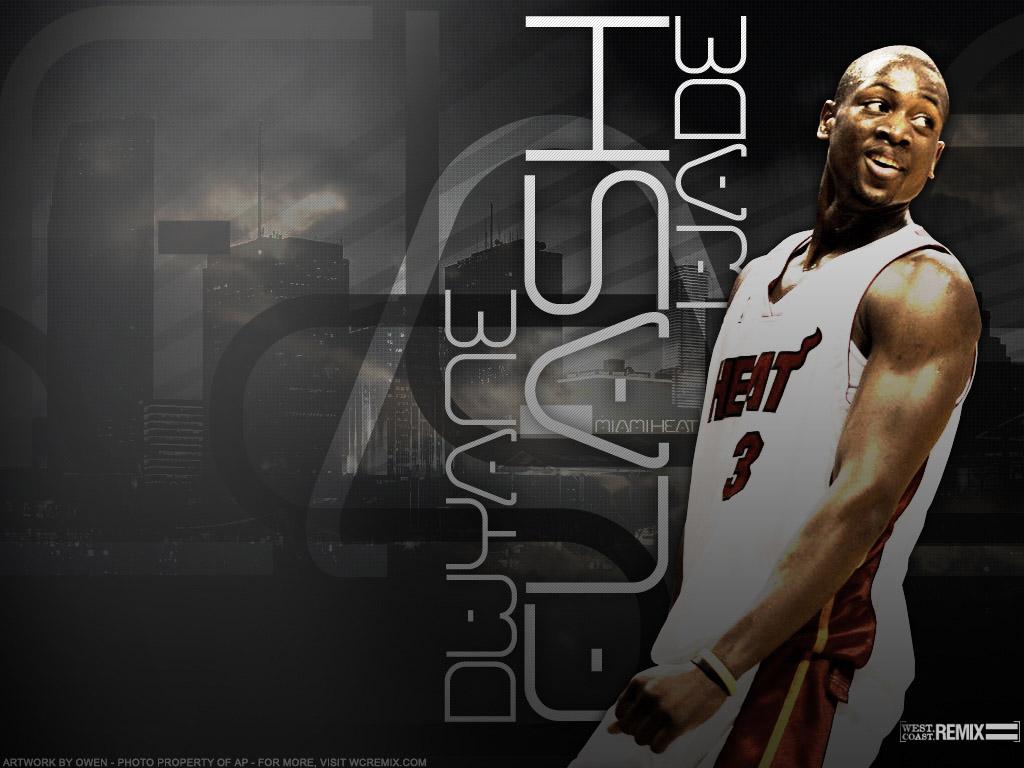 NBA Wallpapers Dwyane Wade   Miami Heat 1024x768