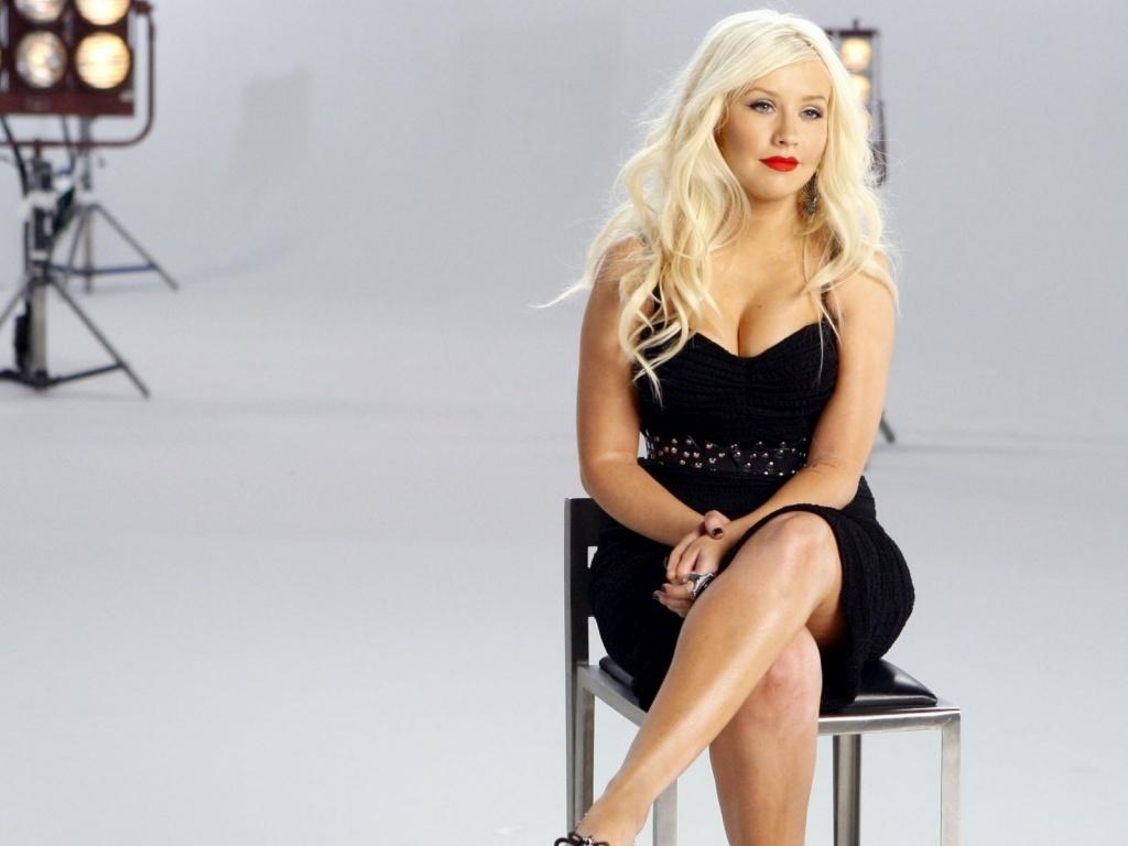 Lovely Christina Wallpaper   Christina Aguilera Wallpaper 1024x768