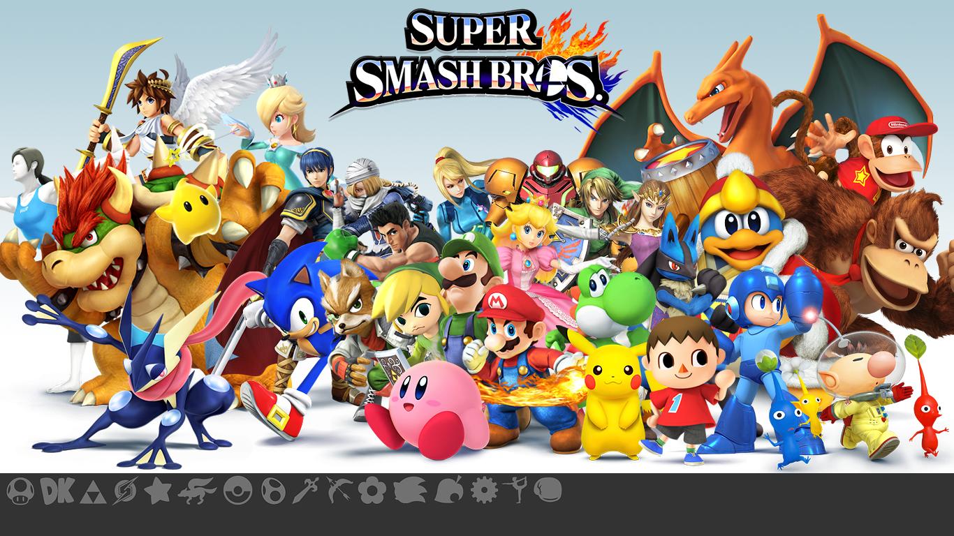 49 Super Smash Bros Wallpapers On Wallpapersafari