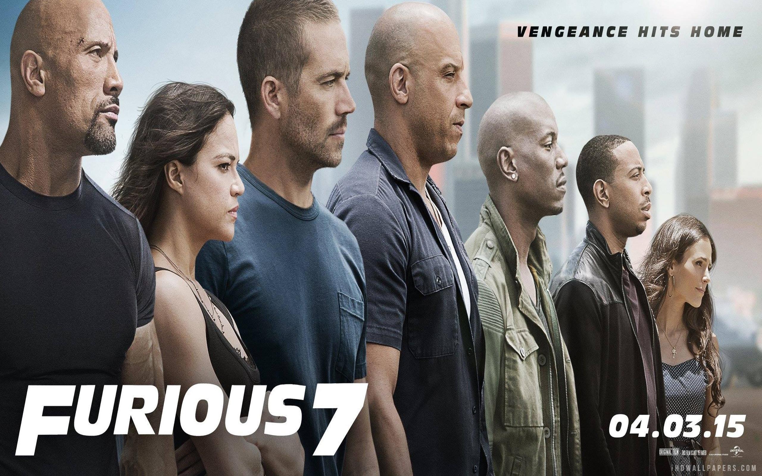 Furious 7 2015 Movie HD Wallpaper   iHD Wallpapers 2560x1600