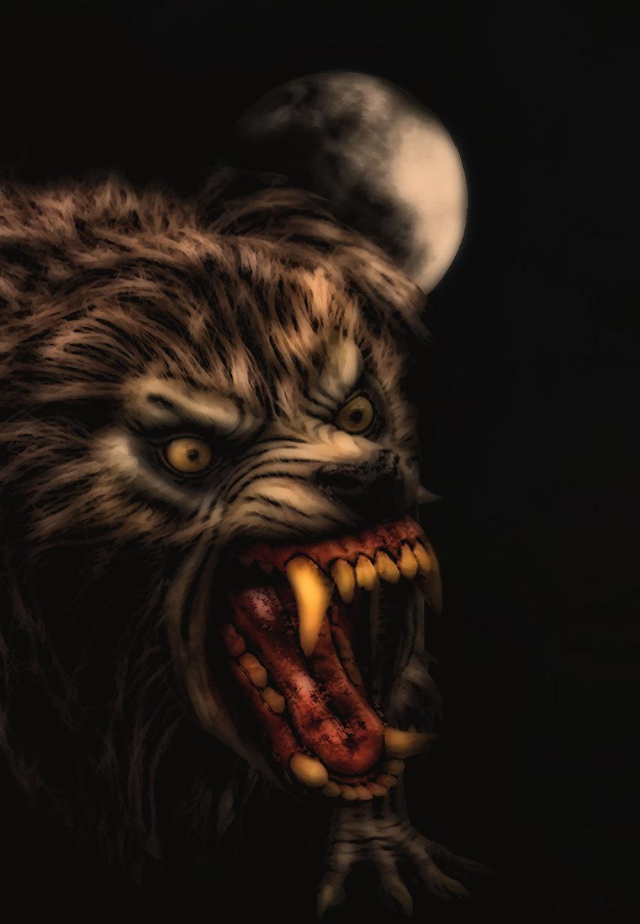 An American Werewolf In London by Brizie 900x1300