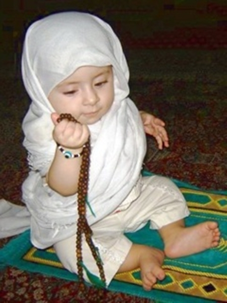 Muslim Cute Baby Boys and Girls Wallpapers Islamic Quotes About 450x600
