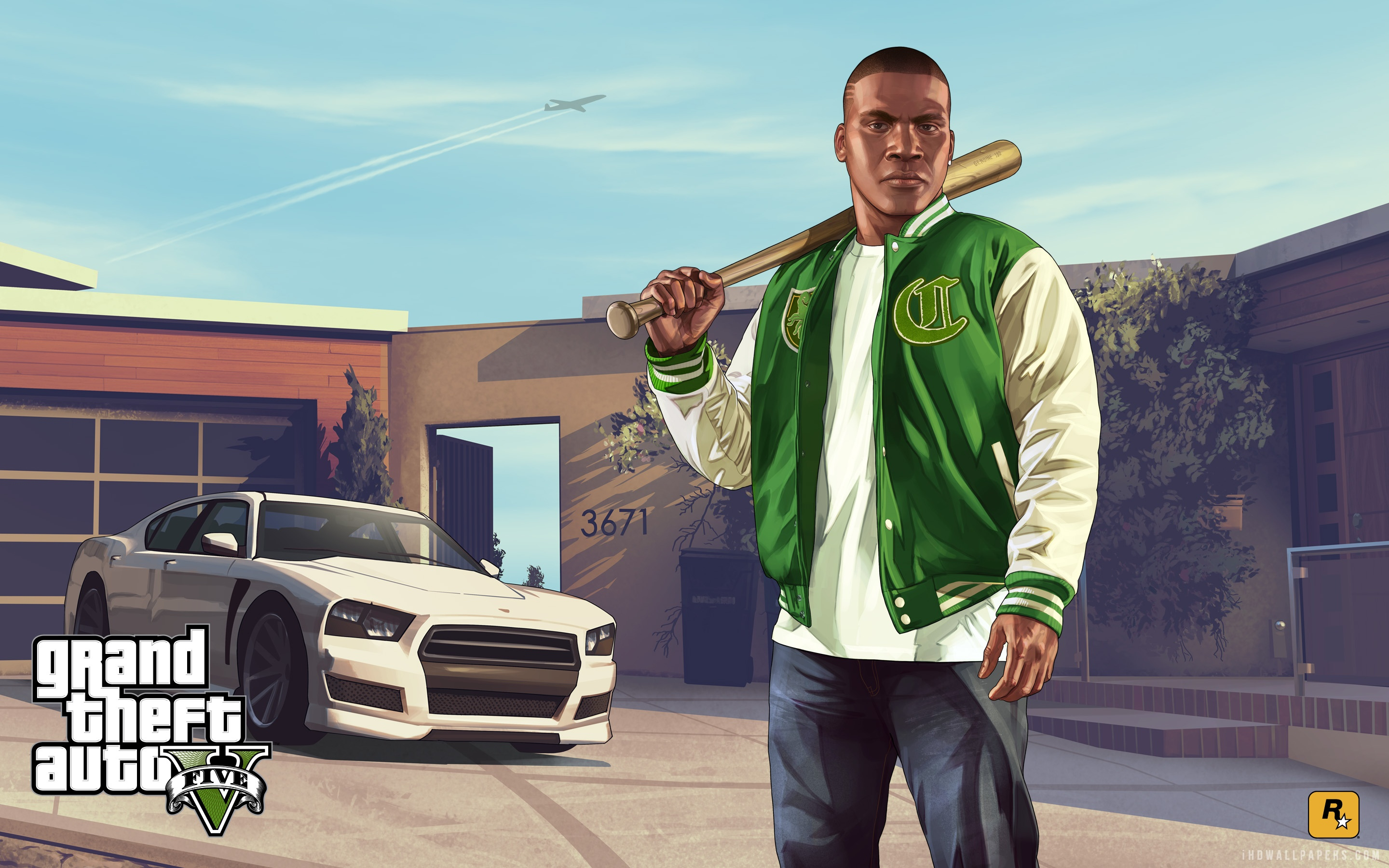 Franklin in Grand Theft Auto V wallpaper 1920x1080 2880x1800