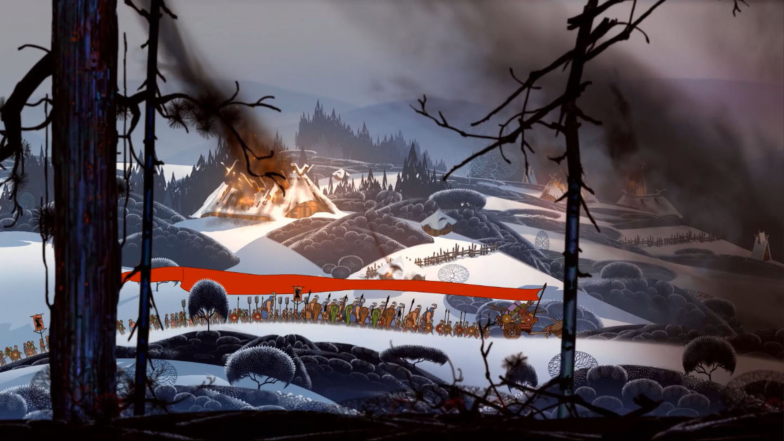 this the banner saga wallpaper is available in 24 sizes 2560x1440