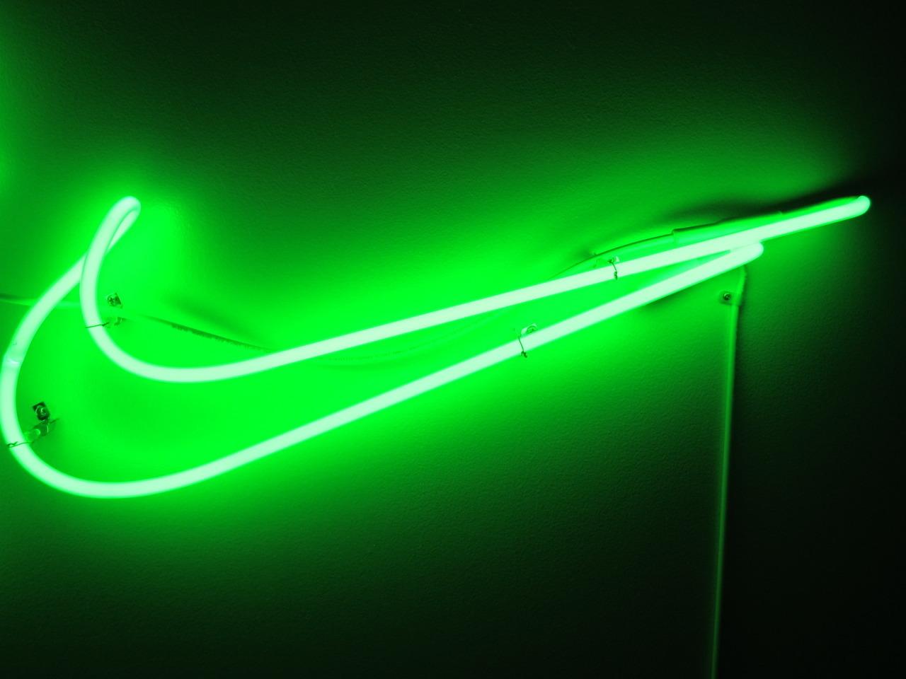Green Nike Wallpaper on WallpaperSafari