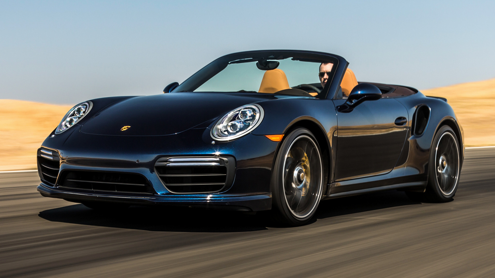 2017 Porsche 911 Turbo S Cabriolet US   Wallpapers and HD Images 1920x1080