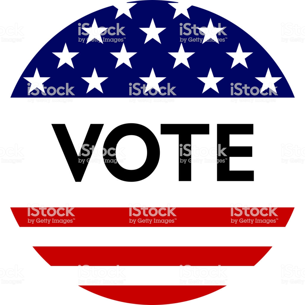 Usa Election Label Background For Pin Badge Election Campaign 1024x1024