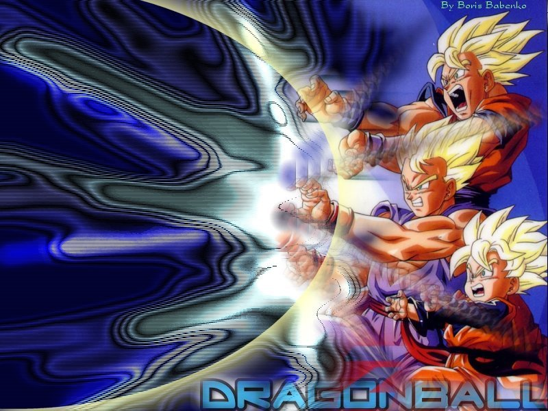 Goku and gohan wallpaper wallpapersafari - Sangoku sangohan ...
