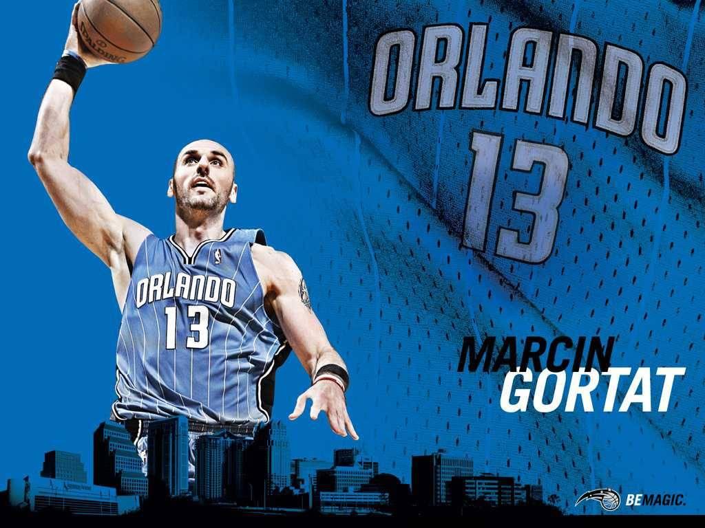 NBA Magic Marcin Gortat Wallpaper   Orlando Magic Wallpaper 1024x768