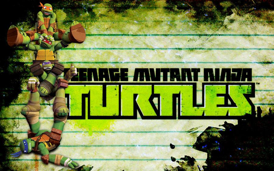 TMNT 2012 Nick Wallpaper 2 by Brandatello 900x563