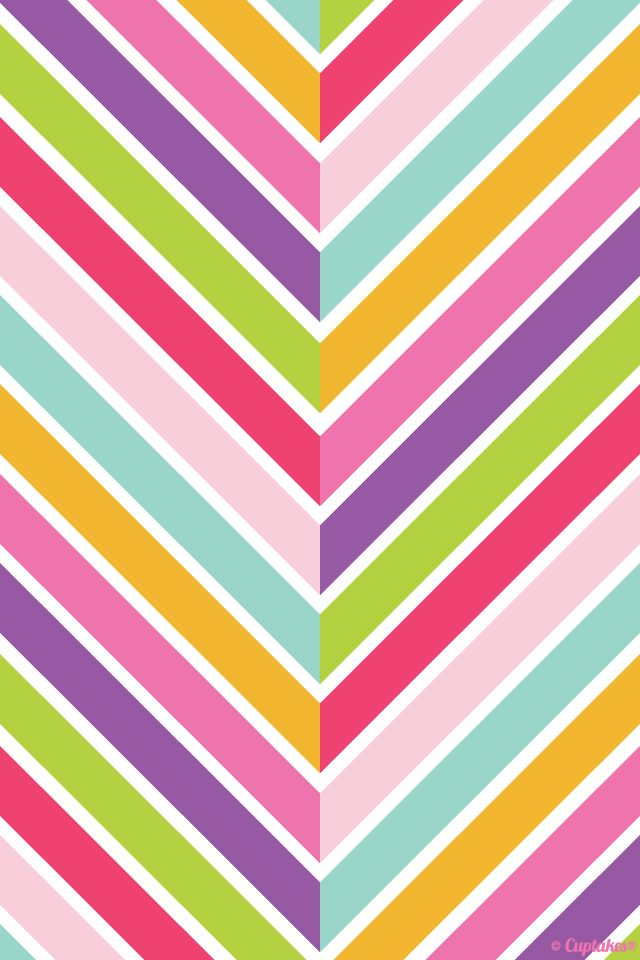 rainbow chevron background - photo #17
