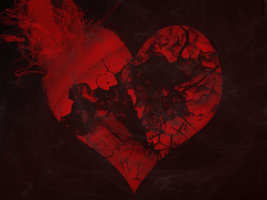 Broken Love Hd Wallpaper : Sad Heart Wallpapers - WallpaperSafari