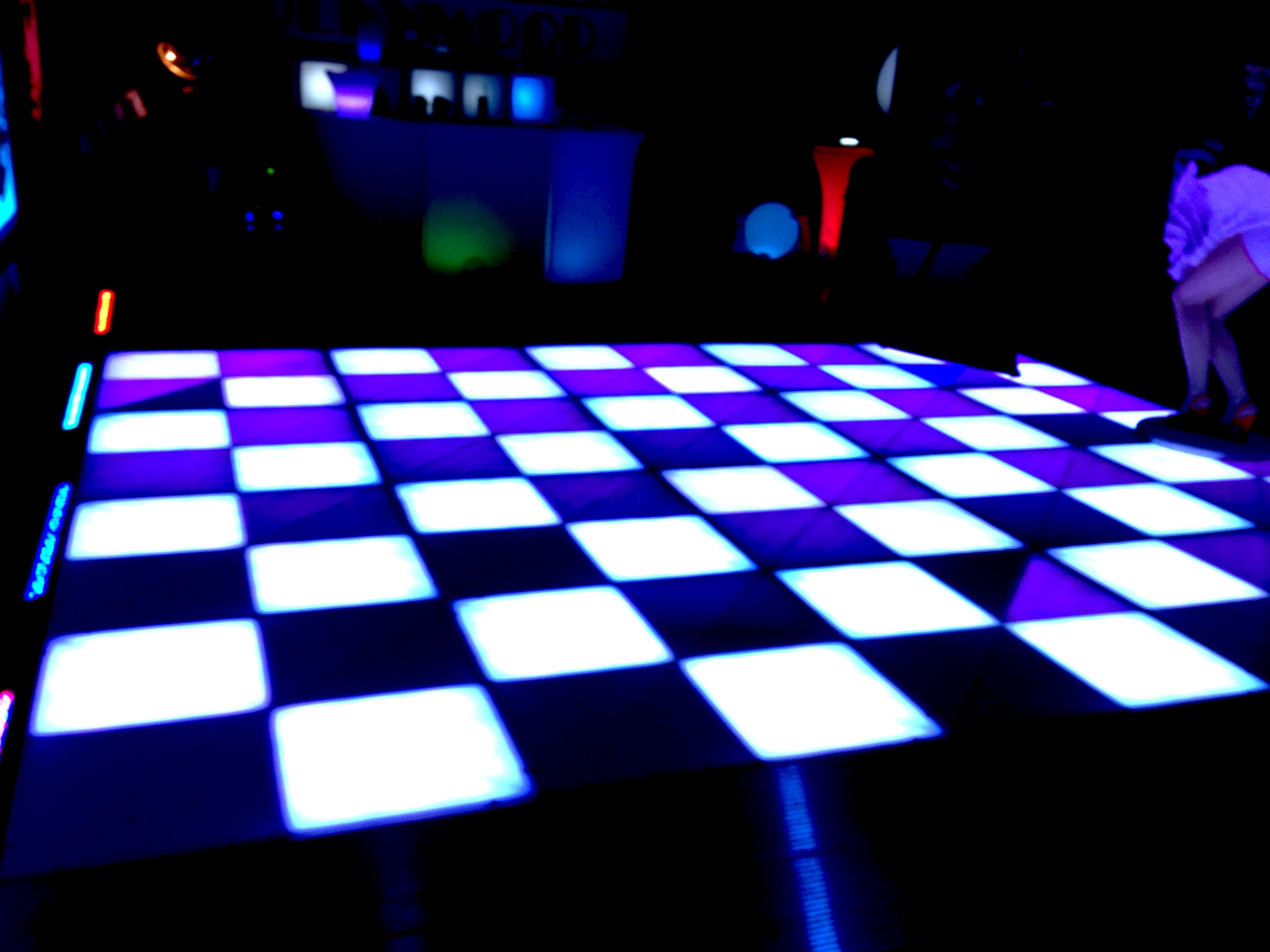 Defocused Dance Floor Background of Stock Footage Video ... |Club Dance Floor Background