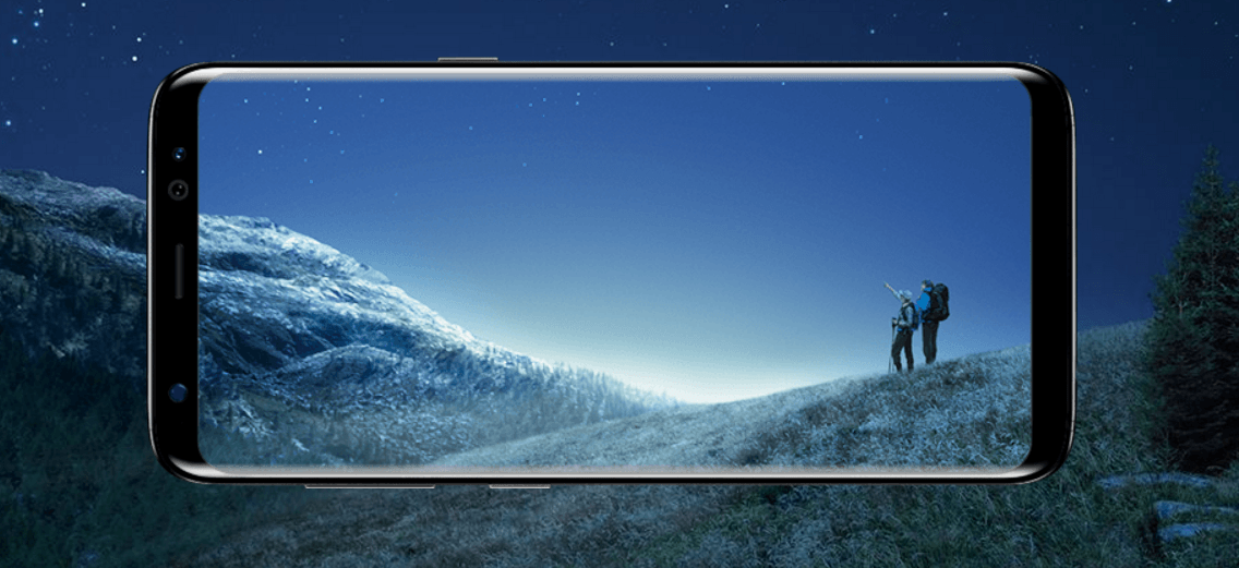 Download Samsung Galaxy S8 Official QHD Wallpapers and Ringtones 1136x521