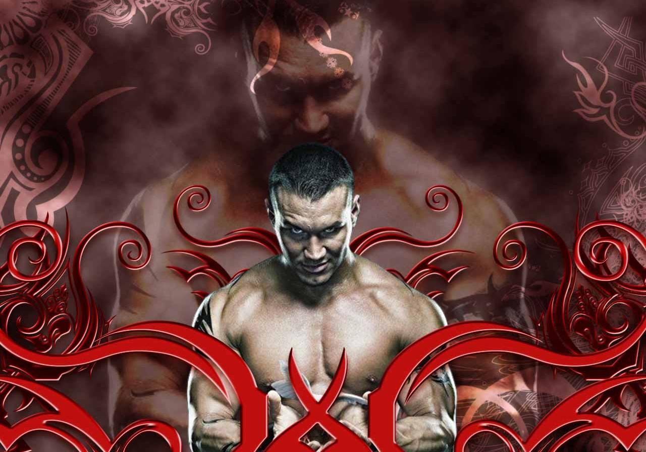 Randy Orton Logo Wallpaper Wallpapersafari