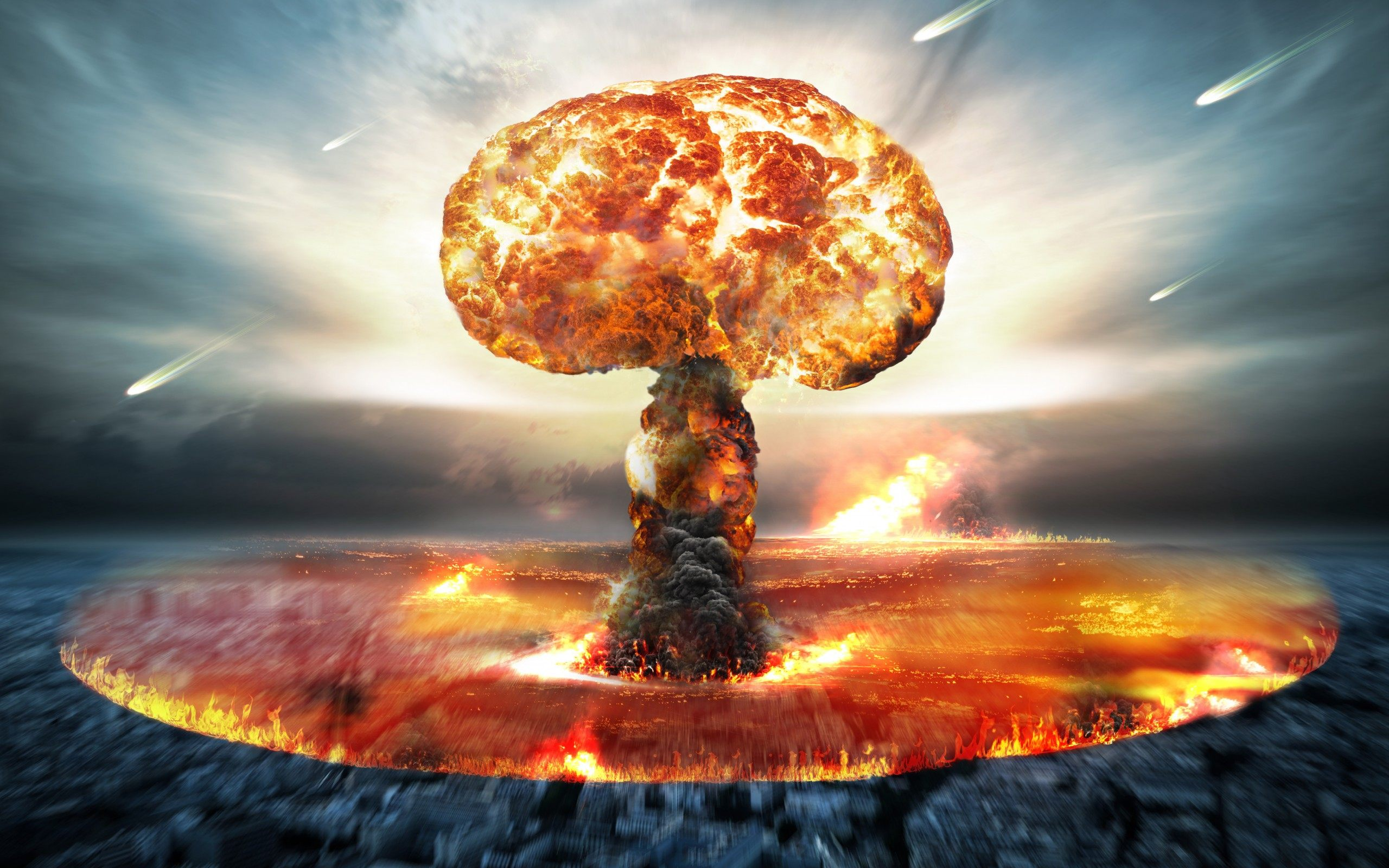 Nuclear Explosion Wallpapers - WallpaperSafari
