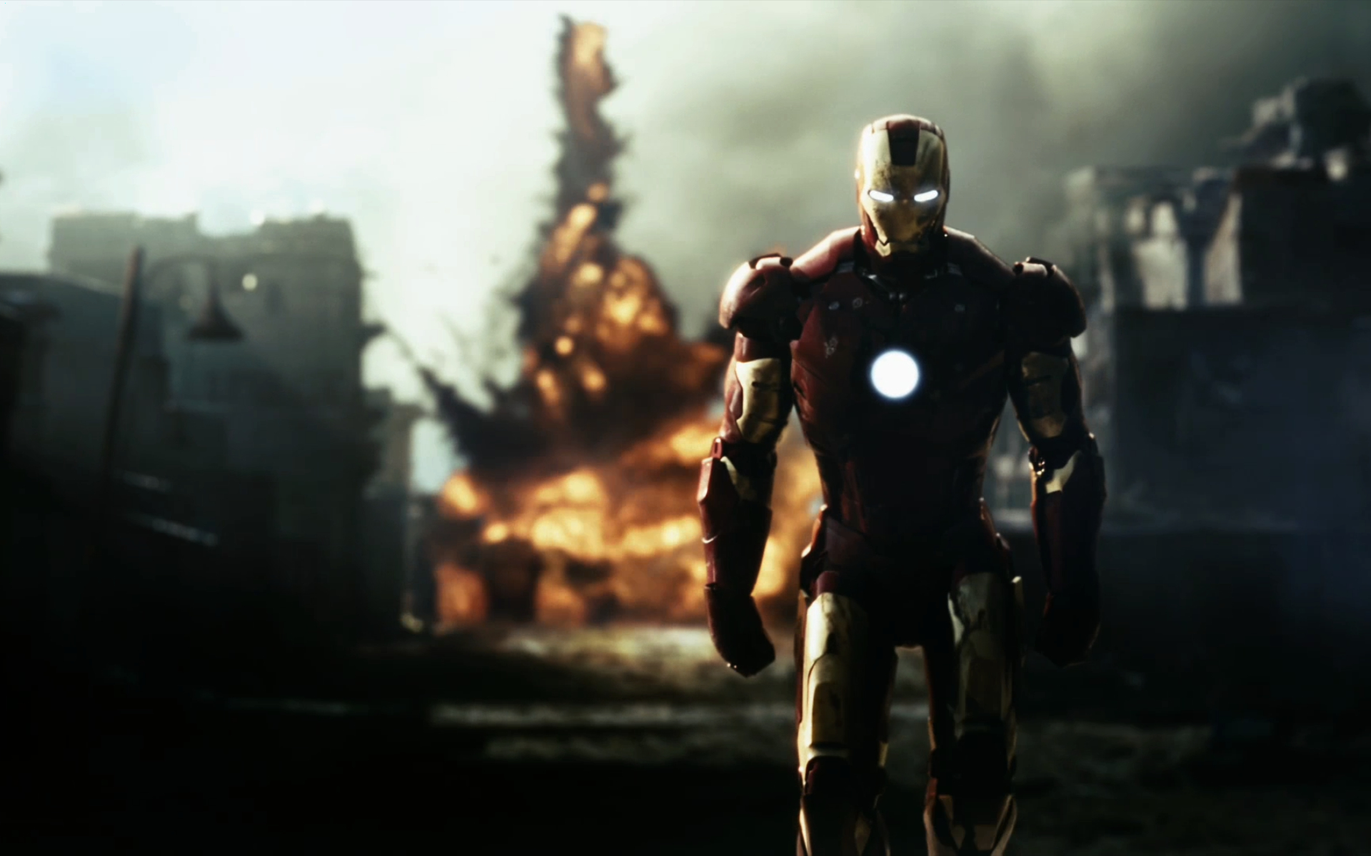 mat denan Iron Man WallPapers Desktops 1920x1200