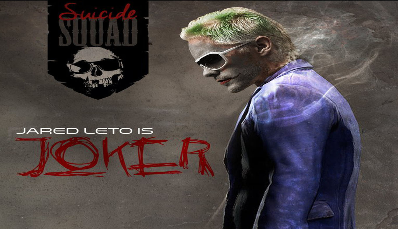 Download Jared Leto As Joker In Suicide Squad HD Wallpaper 1366x786