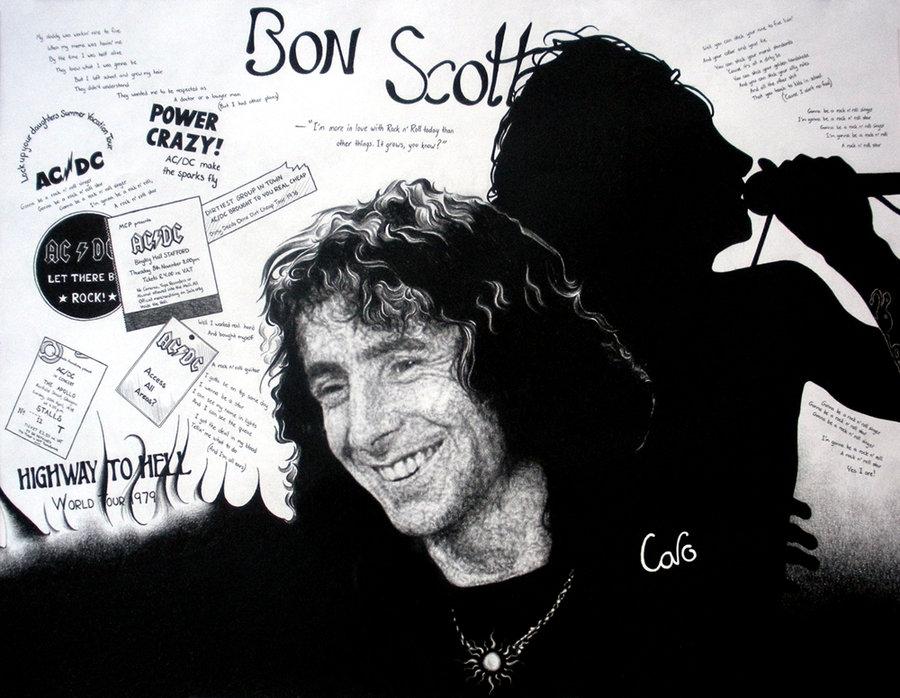 99 Bon Scott Ac Dc Wallpapers On Wallpapersafari