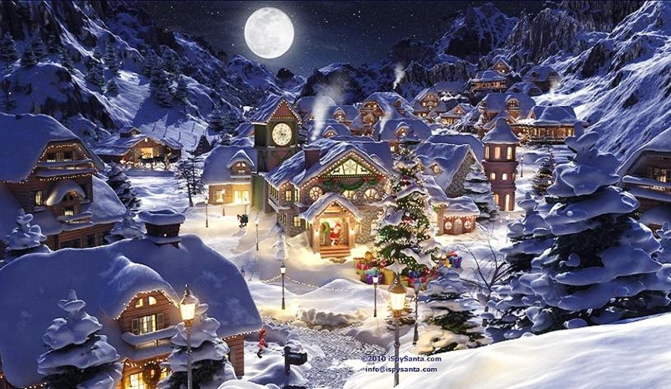 Christmas Village wallpaper   ForWallpapercom 969x562
