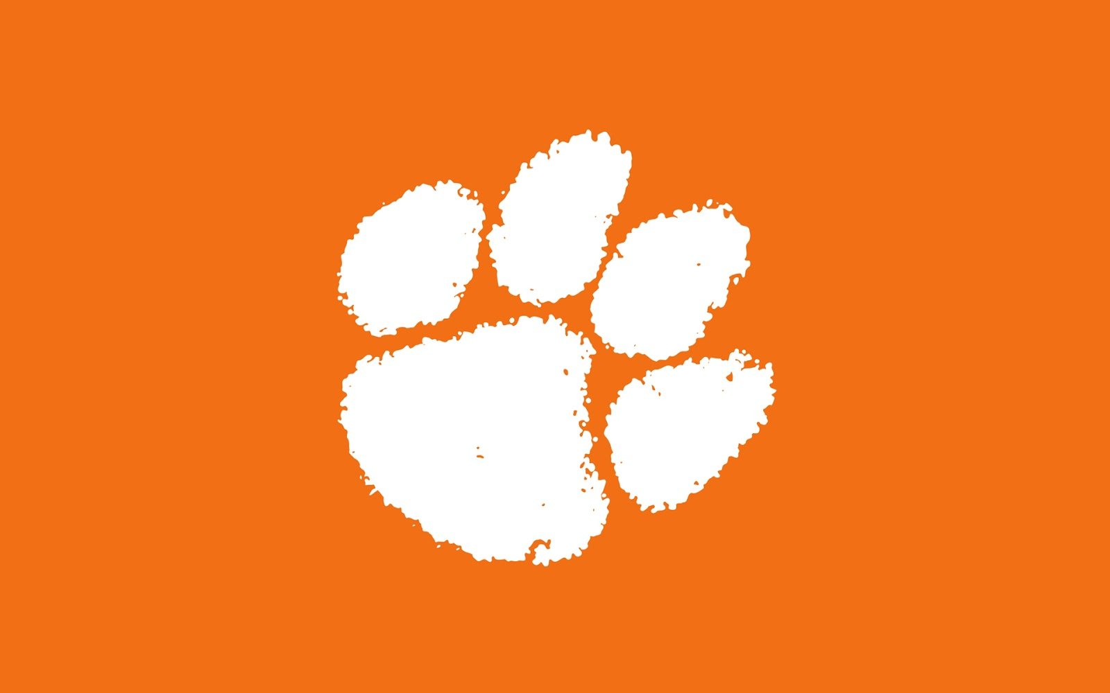 Clemson Paw Wallpapers Pictures 1600x1000