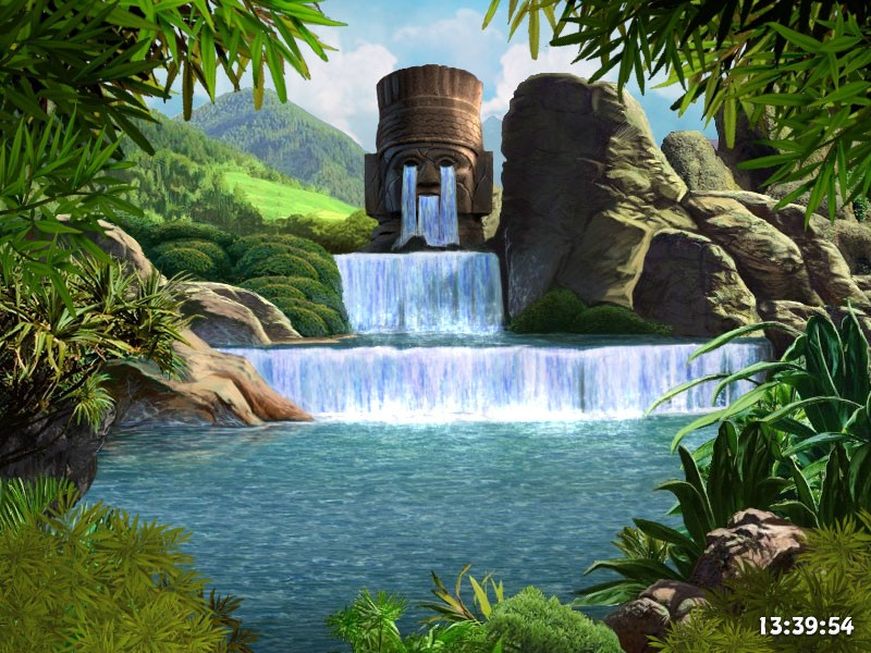 Ancient Gods screensaver   Living Screensaver Waterfalls Screensaver 800x600