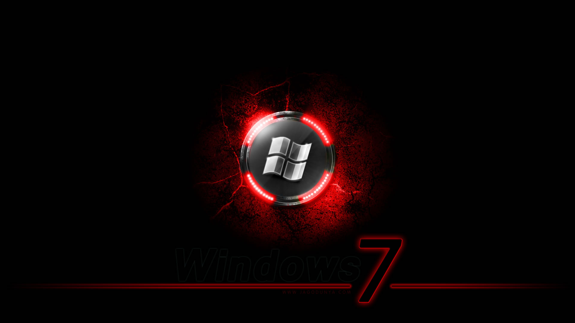 Black Windows 7 hd Wallpapers Full HD Wallpapers Points 1920x1080