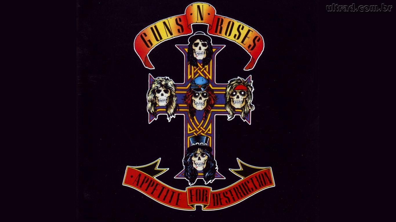 Papel de Parede Guns N Roses   Appetite for Destruction 1366x768