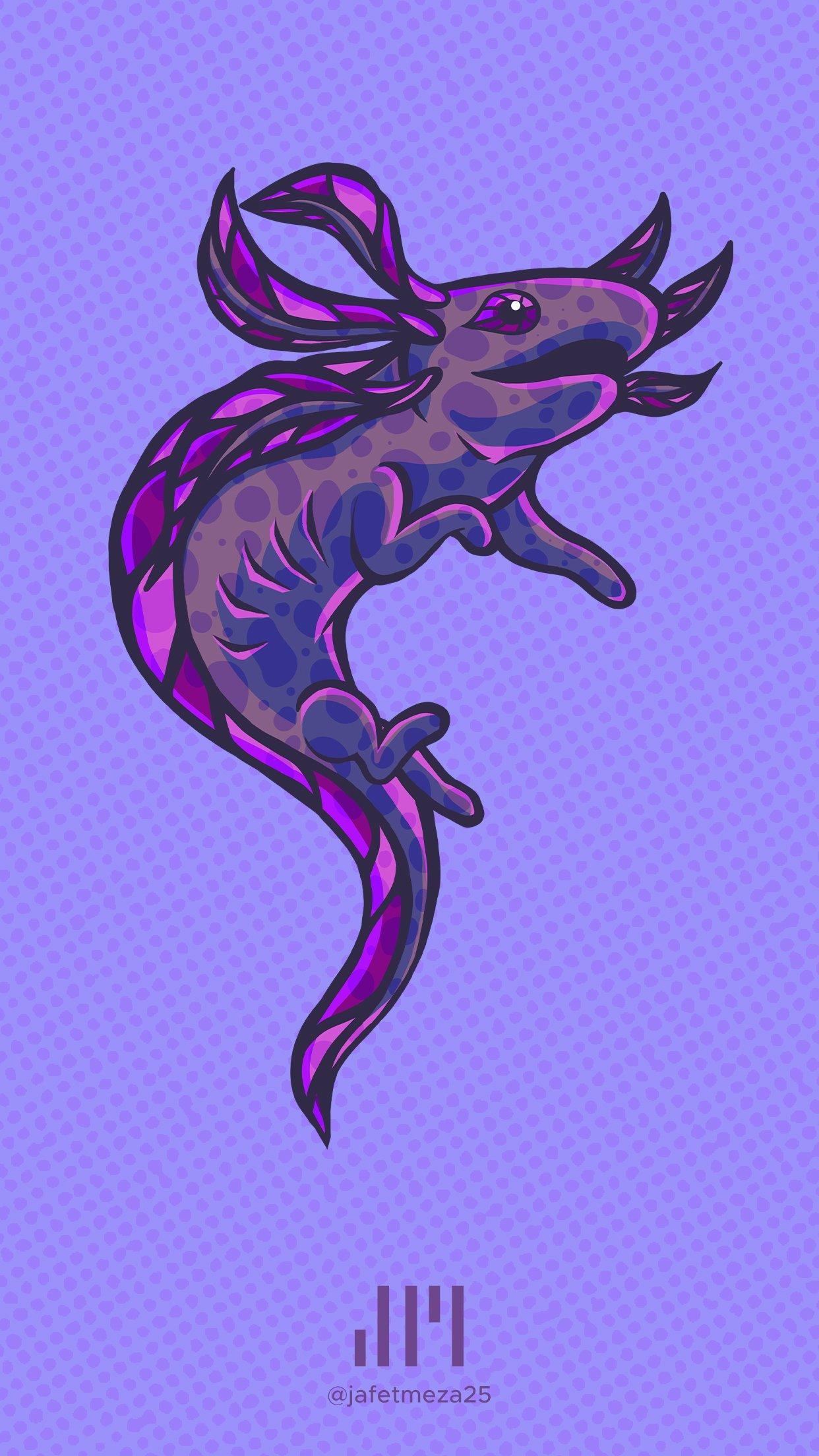 WallMK Best Axolotl Wallpapers 1242x2208