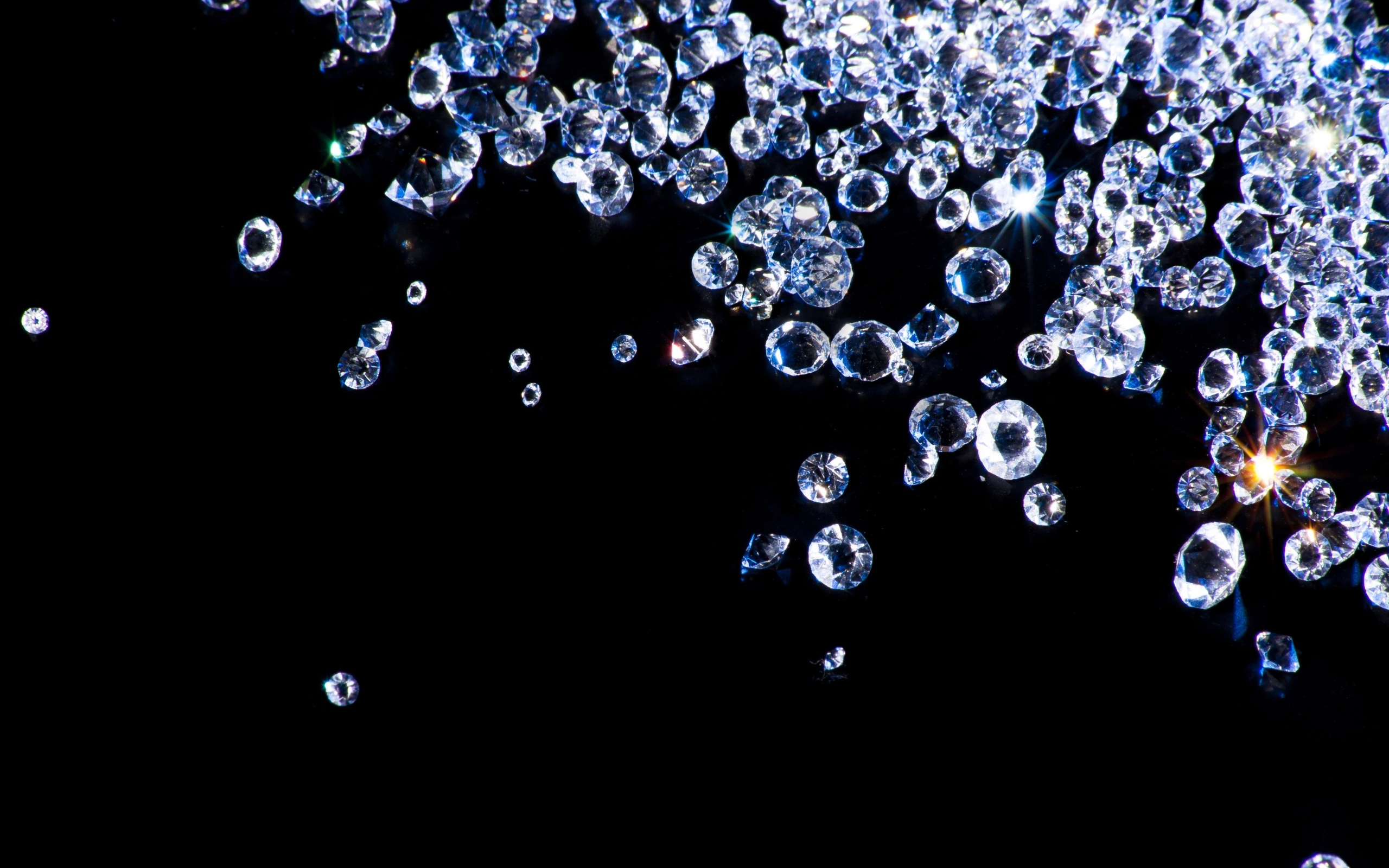 Sprinkle of diamonds wallpapers and images   wallpapers pictures 2560x1600