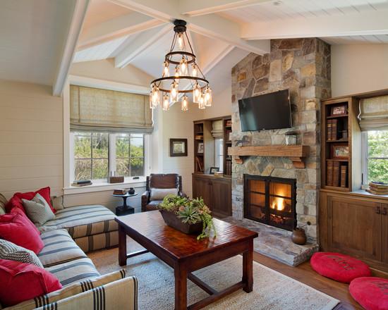 Farmhouse Removed Wallpaper Home Design Photos Decor Ideas 550x440