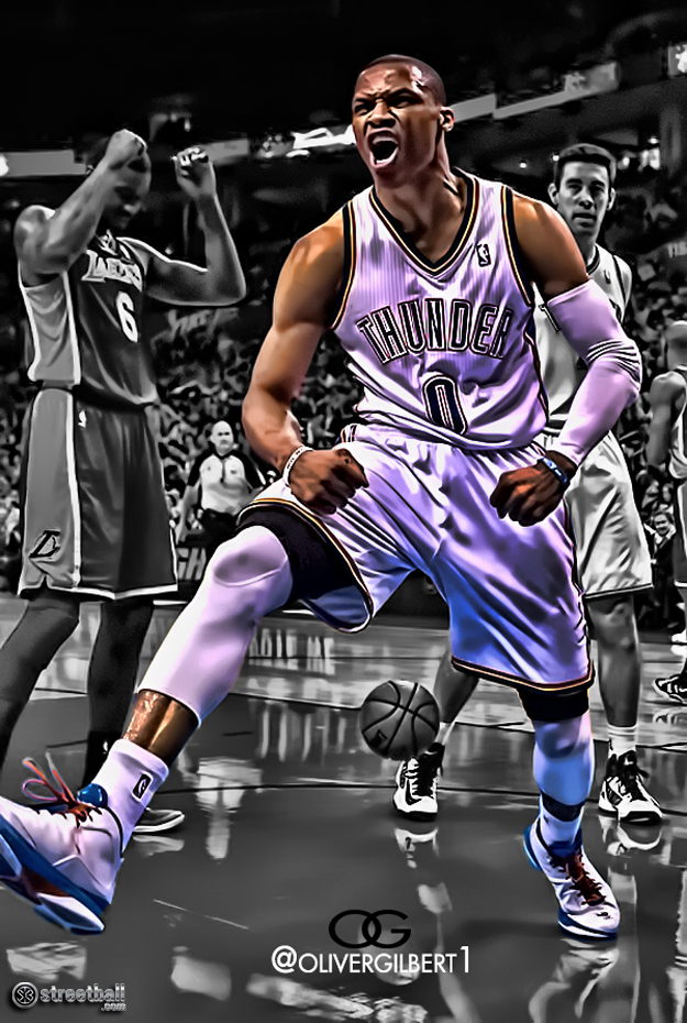 FunMozar Russell Westbrook Wallpapers 625x930