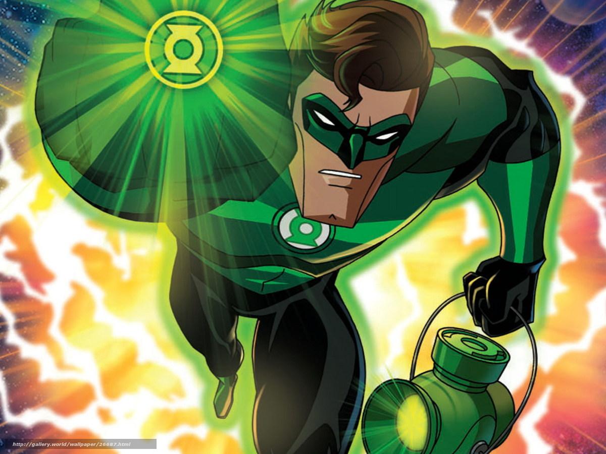 Download wallpaper Green Lantern First Flight 1200x900