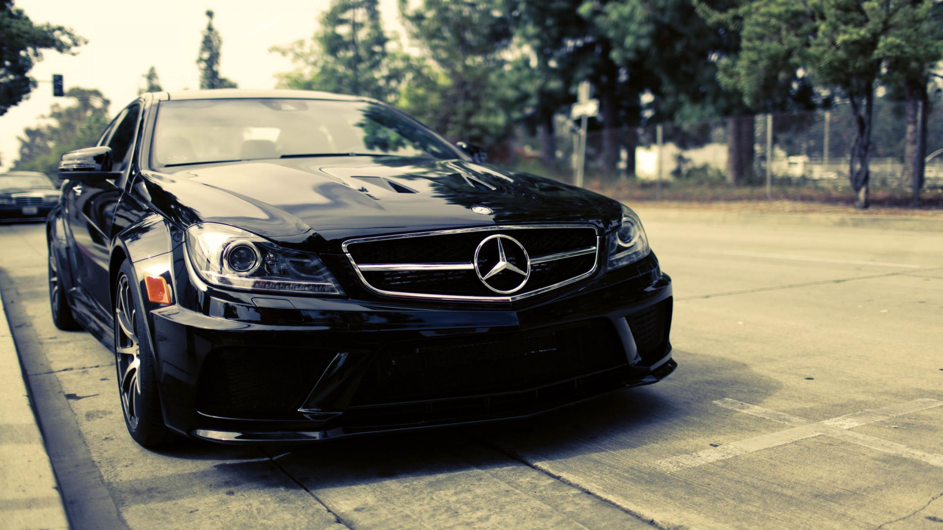 Black Mercedes Benz Hd Wallpaper Cars HD Wallpapers 1920x1080