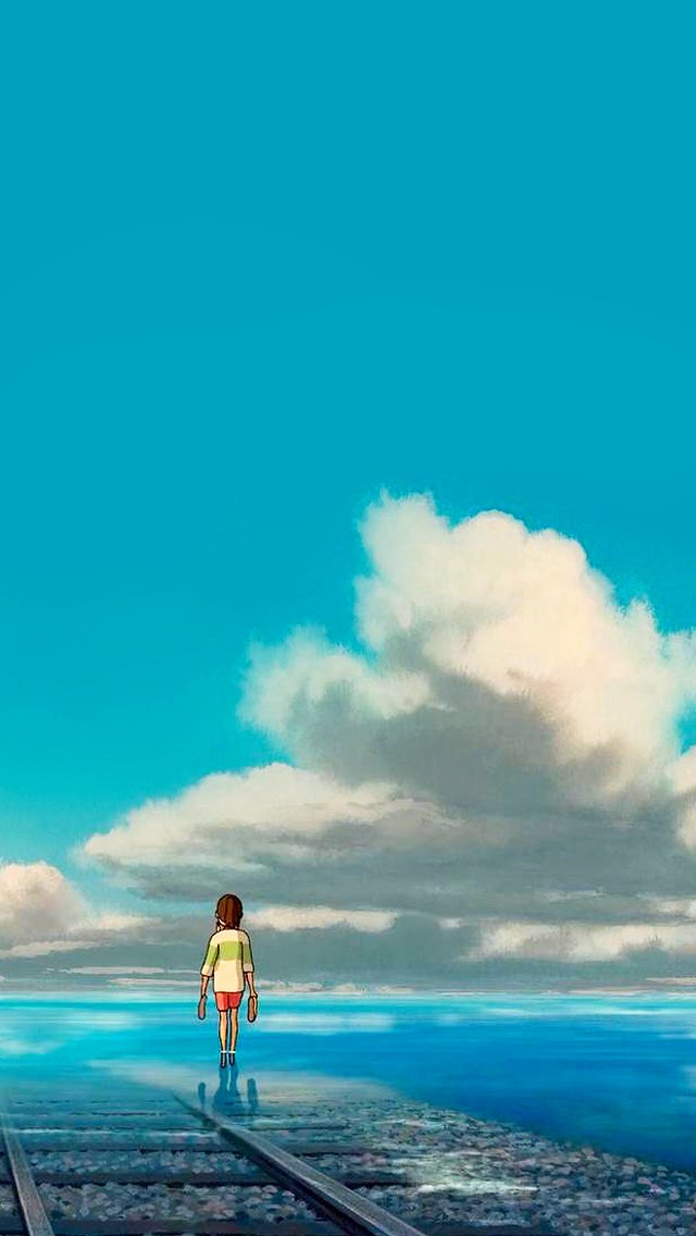 Free Download Studio Ghibli Gifs Spirited Away Phone Wallpapers Quality Is Best 640x1136 For Your Desktop Mobile Tablet Explore 48 Studio Ghibli Phone Wallpaper Studio Wallpaper Hd Studio Ghibli