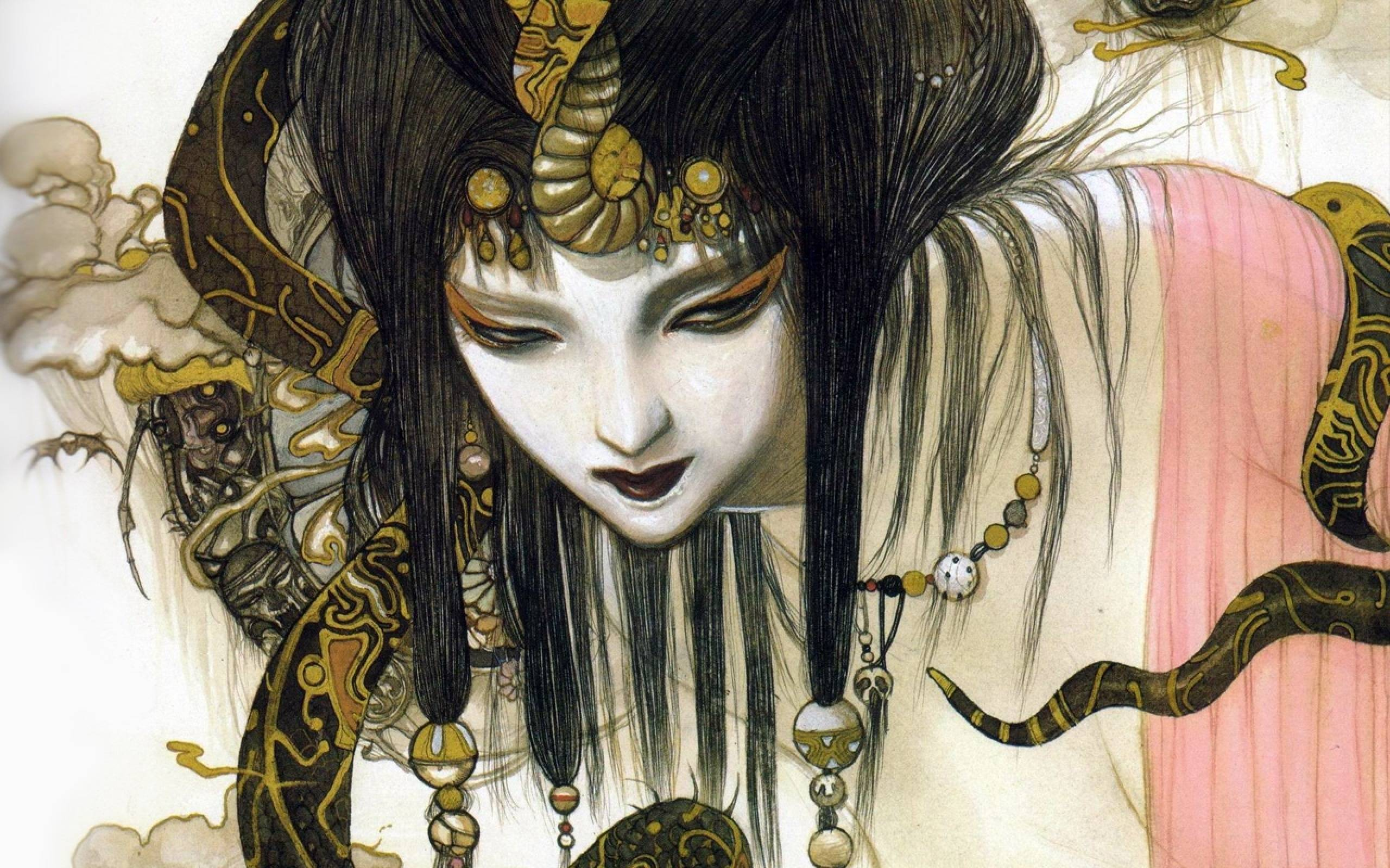 Geisha Wallpapers 2560x1600