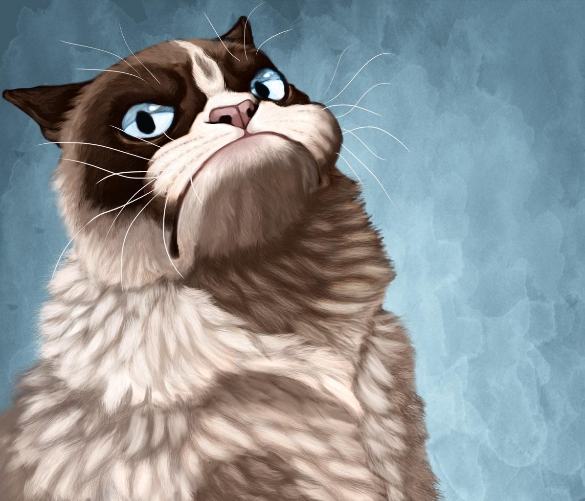 Funny Grumpy Cat Quotes 1196x1024