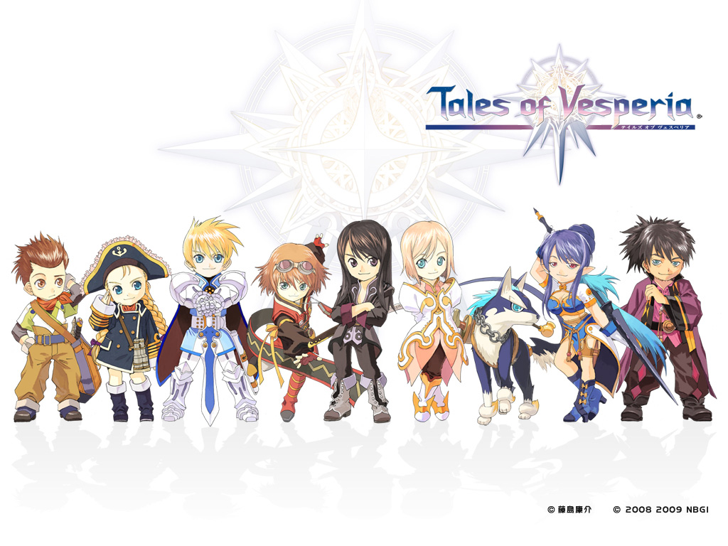 Tales of Vesperia wallpaper 1024x768