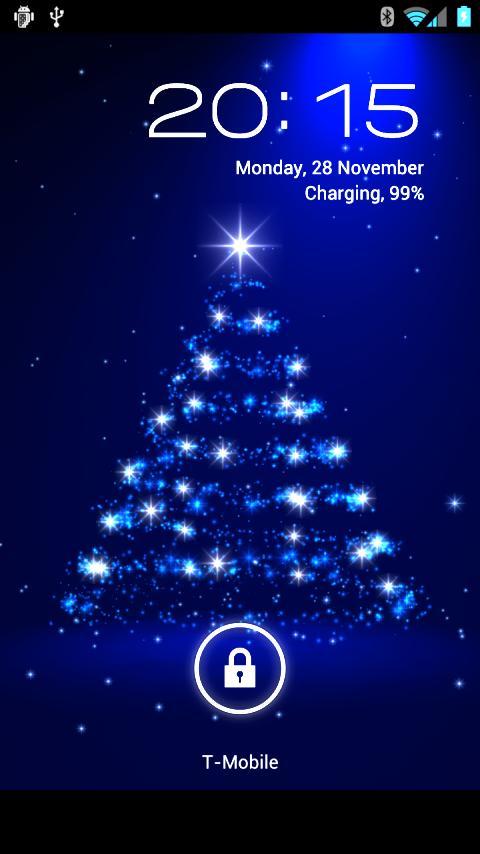 christmas scene wallpaper countdown desktop Quotekocom 480x854