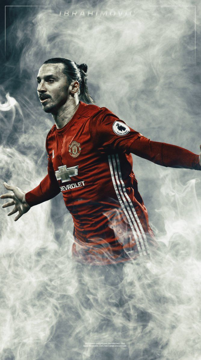 Image result for zlatan wallpaper Dare to Zlatan Manchester 668x1197