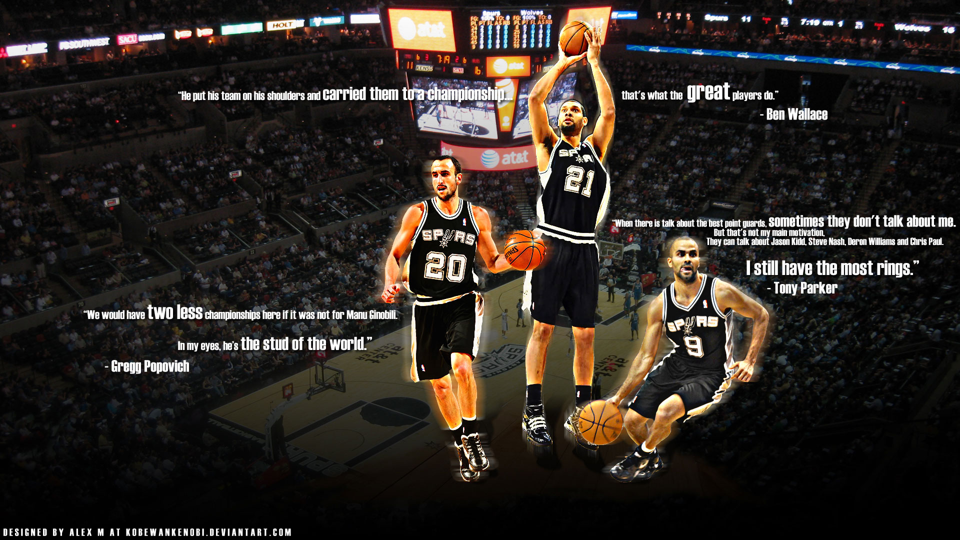 Spurs Desktop Wallpaper 1920x1080