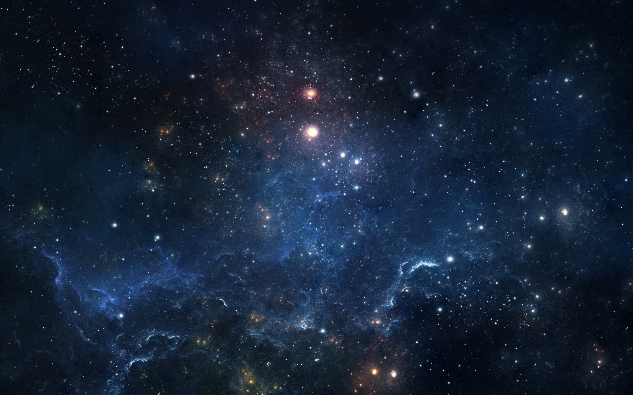 Stars space nebula wallpaper 2560x1600 136960 WallpaperUP 2560x1600