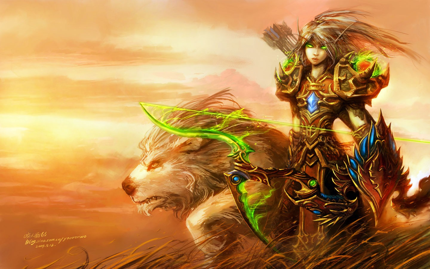 World of Warcraft blood elf hunter naked photos
