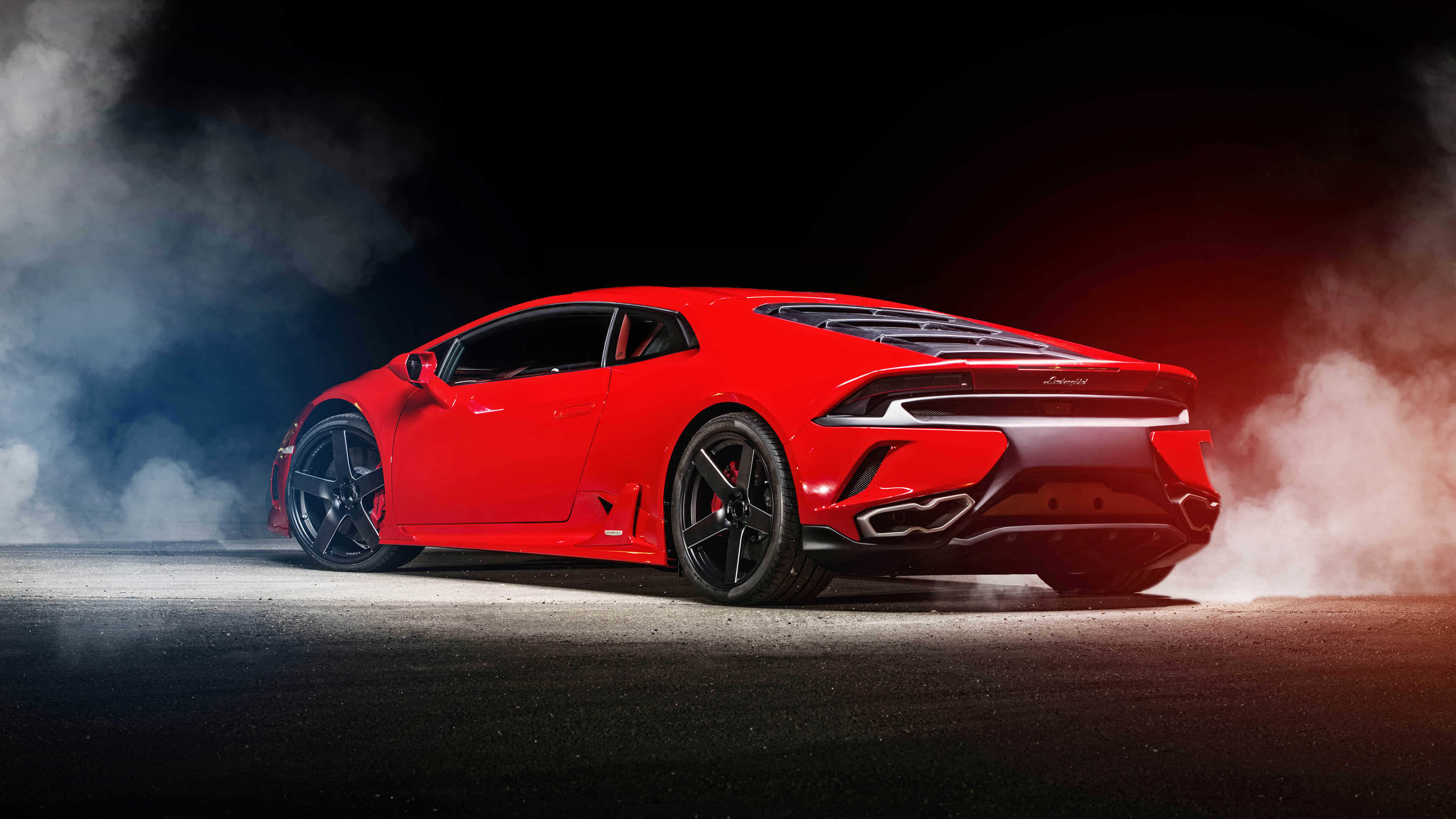 Red Lamborghini Huracan UHD 4K Wallpaper Pixelz 3840x2160